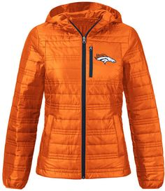 6303efa9a G-iii Sports Women s Denver Broncos Formation Packable Jacket Football Team  Logos