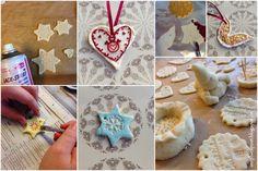 Weihnachtsgeschenke basteln mit Kindern - SALZTEIG ⋆ einfach Stephie