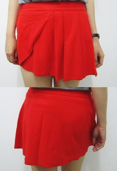 Gaff Red Skirt - #Fashiontastic