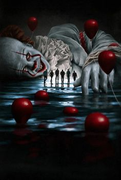 IT Chapter Pennywise All New Wallpaper All New Wallpaper, Joker Hd Wallpaper, Wallpaper Animes, Joker Wallpapers, Halloween Wallpaper, Iphone Wallpapers, Scary Movies, Horror Movies, Arley Queen