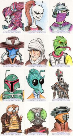 Star Wars Galactic Files - 01