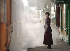Lady Mary as Matthew leaves to war