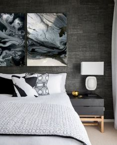 New wallpaper bedroom luxury bedside tables Ideas Industrial Bedroom Design, Vintage Industrial Furniture, Furniture Projects, Cool Furniture, Furniture Makers, Urban Road, New Wallpaper, Bedroom Wallpaper, Textured Wallpaper