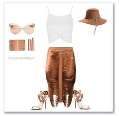 Kylie Jenner Edgy Style Vibes!! Rag and Bone Hat, Dion Lee Skirt, Burberry Shoes, Linda Farrow Shades, Valentino Purse, Summer Party Outfit,  9 Sexy Summer Party Night Fashion Ideas