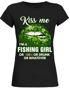Teezily sells Women's Tees Kiss Me I'm a VOLLEY GIRL online ▻ Fast worldwide shipping ▻ Unique style, color and graphic ▻ Start shopping today! Fishing World, Irish Pride, Camping Gifts, Fishing Gifts, Camping World, Girl Online, Kiss Me, Gifts For Girls, Holidays And Events