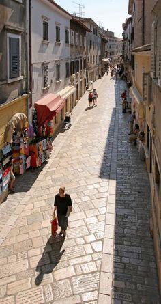 "Poreč: ""Poreč itself has a beautiful and quite typical Croatian coastal old town, jutting like a small island into the sea, and is home to renowned 6th-century bc mosaics in its UNESCO World Heritage Site basilica."" Istria: Porec, CROATIA"