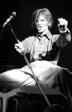 The year of the Diamond Dogs David Bowie Diamond Dogs, Ziggy Played Guitar, David Bowie Ziggy, The Thin White Duke, Pretty Star, Idole, Ziggy Stardust, Sound & Vision, Mick Jagger