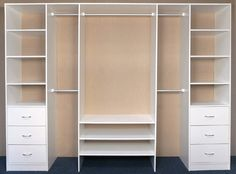 3 Door Layout Options - BRODCO Wardrobes