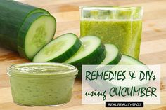 Best beauty remedies and DIYs using cucumber for skin and hair