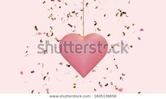 Find Hanging Pink Heart Flying Confetti Small stock images in HD and millions of other royalty-free stock photos, illustrations and vectors in the Shutterstock collection. Portfolio Strategy, Bow Vector, Stock Portfolio, Girls Bows, Confetti, Something To Do, How To Make Money, Royalty Free Stock Photos