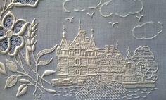 KUFER - художественное ремесло: вышивка белый