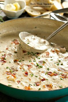 Best Clam Chowder on Reluctant Entertainer. com