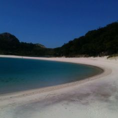 Who knew that one of the world's best beaches was just off the coast of Galica in Spain on Islas Cies... We love