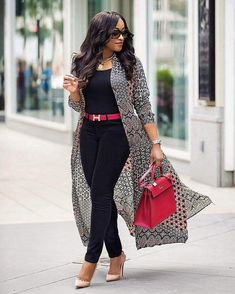 Casual Stylish Business Outfit for the Ladies Latest African Fashion Dresses, African Print Fashion, Women's Fashion Dresses, Africa Fashion, Classy Outfits, Stylish Outfits, Look Fashion, Autumn Fashion, Womens Fashion