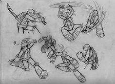 Turtle sketches by RednBlackDevil.deviantart.com on @deviantART