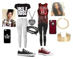 """""""best friends"""" by jchristina ❤ liked on Polyvore featuring interior, interiors, interior design, home, home decor, interior decorating, Frame Denim, WearAll, Topshop and Converse"""