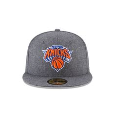 buy online 51acf 94685 NEW YORK KNICKS MELTON WOOL 59FIFTY FITTED Front view Hat Day, New York  Knicks,