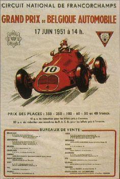 #10 Belgium - Spa-Francorchamps -- 1951