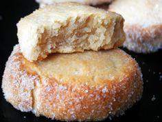 Galletas de vainilla y queso de untar