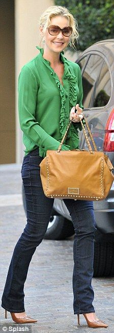 Don't like the purse, I would use the coach one , But I like the rest of the outfit
