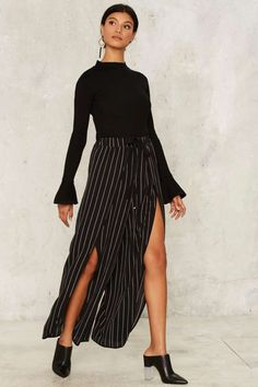 Stripe Your Eyes Relaxed Pants | Shop Clothes at Nasty Gal!