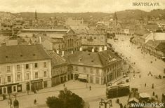 Hydinový trh, Námestie SNP Bratislava, Paris Skyline, Mansions, House Styles, Painting, Travel, Viajes, Manor Houses, Villas