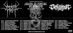"""Long Live The Loud 666: SADISTIC INTENT & DEHUMAN """"DEATH IS COMING TO EURO..."""