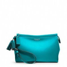 Coach Legacy Large Wristlet In Leather