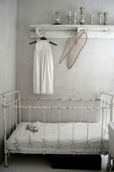 Simple #white nursery