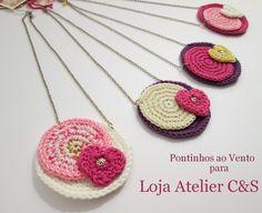 Loja atelier C & S: ♥♥♥ Novos colares...novidades primaveris da Maria Duarte ♥♥♥