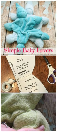 the free pattern and make this simple baby lovey! This has always been my most popular item at craft fairs. So soft and sweet! Sewing Toys, Baby Sewing, Sewing Crafts, Baby Patterns, Sewing Patterns, Sewing Ideas, Knitting Patterns, Sewing Tutorials, Easy Baby Blanket
