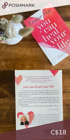 """BNWT Paperback """"You can heal your life"""" Louise Hay Brand new book Hasn't been read Perfect condition Other Long Sleeve Floral Dress, Wrap Dress Floral, The Prince Book, Ann Doll, Louise Hay, Vintage Coffee, Bath And Body Works, Your Life, New Books"""
