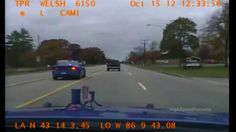 Michigan Police Chase Ex-Sheriff Deputy For Hit And Run (Dashcam Video)