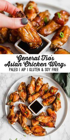Paleo Menu, Paleo Cookbook, Paleo Dinner, Paleo Food, Dinner Healthy, General Tso, Best Paleo Recipes, Wing Recipes, Easy Recipes