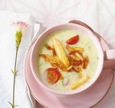 Spargel-Basilikum-Suppe Rezept - [ESSEN UND TRINKEN]