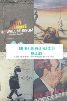 Ian produced the video and created the music for this collage of images from the Berlin Wall Eastside Gallery, check out the blog post too