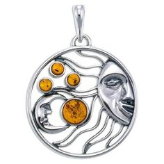cool sterling silver sun necklace - Google Search