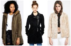 Cheap, cozy, cute coats to battle this winter season. #fashion