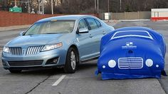 Is Ford building an inflatable car?