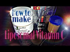 *LIPOSOMAL ENCAPSULATED VITAMIN C - As Effective As IV - DIY for Pennies, 8ALOHA.COM* - YouTube