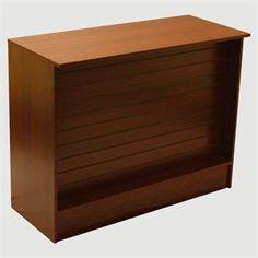 Wrap Counter w/ Slatwall Front @$275