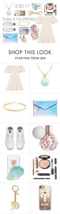 """TODAY IS MY BIRTHDAY!!!"" by lost-in-wonderland9008 ❤ liked on Polyvore featuring Valentino, Belk & Co., Lana Jewelry, Rebecca Minkoff, Vans, Ashlyn'd, MICHAEL Michael Kors and Casetify"