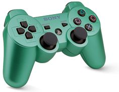Custom PS3 Controller Wireless Moss Green- Without Mods