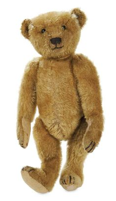 Early German Mohair Teddy Bear by Steiff with Button in Ear 1200/1500 | Proxibid Auctions