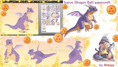 Icarus (Dragon Ball) papercraft by Antyyy.deviantart.com on @DeviantArt