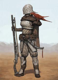 Desert Marksman by ariel perez | Sci-Fi | 2D | CGSociety
