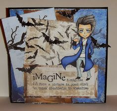 Image Stamp, Wonderland, Projects To Try, Frame, Card Ideas, Stamps, Cards, Pictures, Journal