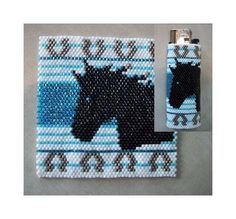 Horse Lighter Cover Pattern