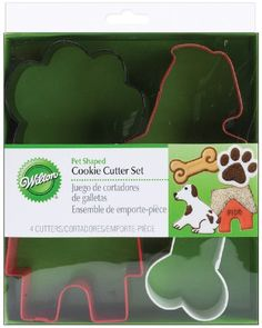 Wilton Metal Cookie Cutter Set, Pet Theme, 4-Pack Wilton http://smile.amazon.com/dp/B005IRA07S/ref=cm_sw_r_pi_dp_Pi8evb0NJFG7F