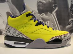 check out cdeea 3a896 ... Jordan Son of Mars Low Tour Yellow Grape Ice Cement Grey ...